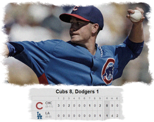 Cubs-Dodgers 3-14-13 Header