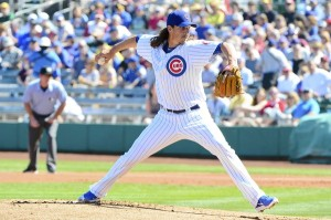 MLB: Spring Training-Arizona Diamondbacks at Chicago Cubs