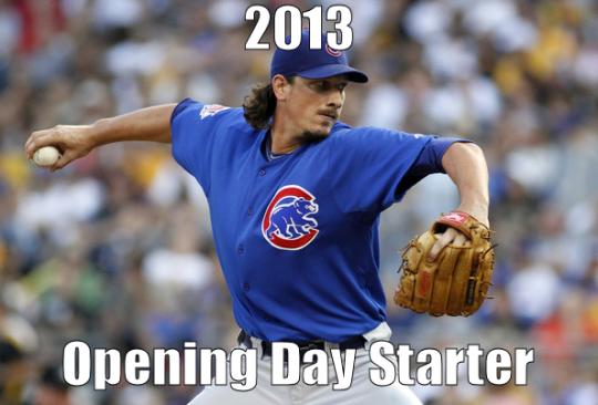 Jeff Samardzija Opening Day Starter
