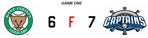 Kane County 4-29 line game 1
