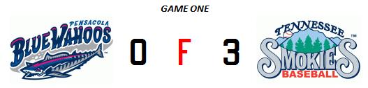 Smokies 4-29 game one