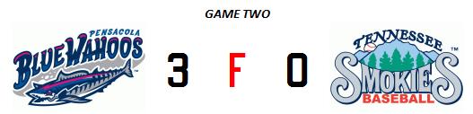 Smokies 4-29 game two