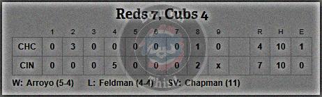 Cubs 5-24 line