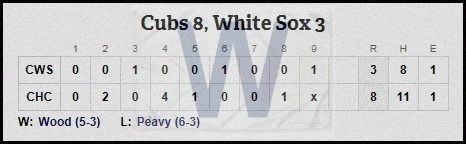 Cubs 5-30 line
