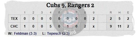 Cubs 5-6 line