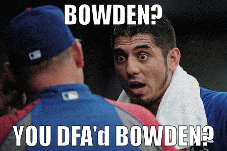 Garza for Bowden