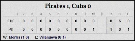 3-31-14 line score