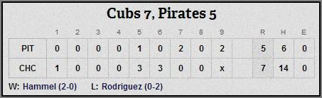 Cubs 4-9-14