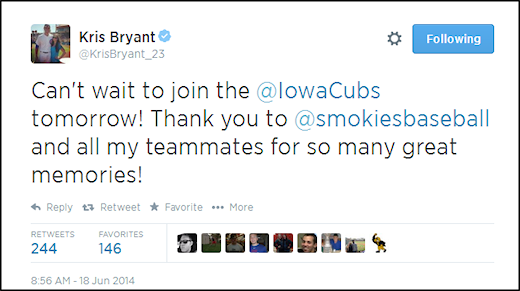 Bryant Promoted