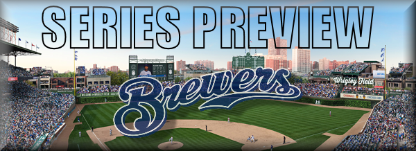 Series Preview HOME Brewers