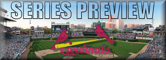 Series Preview HOME Cardinals