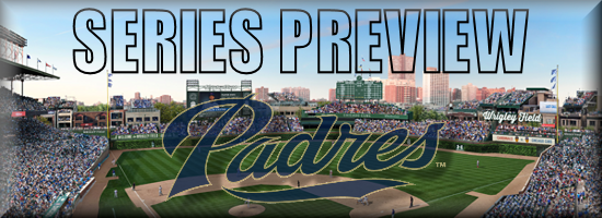 Series Preview HOME Padres