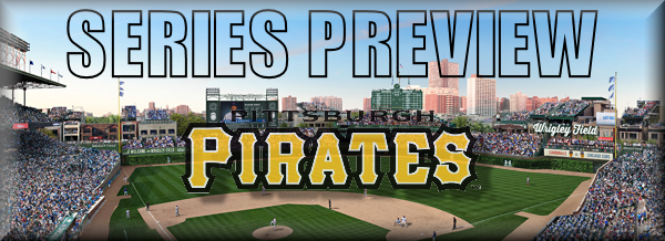 Series Preview HOME Pirates