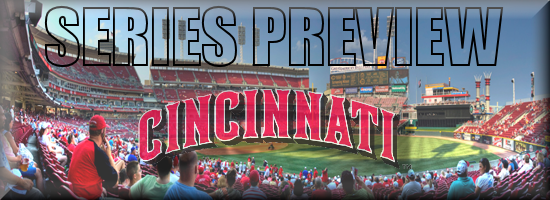 Series Preview ROAD Reds